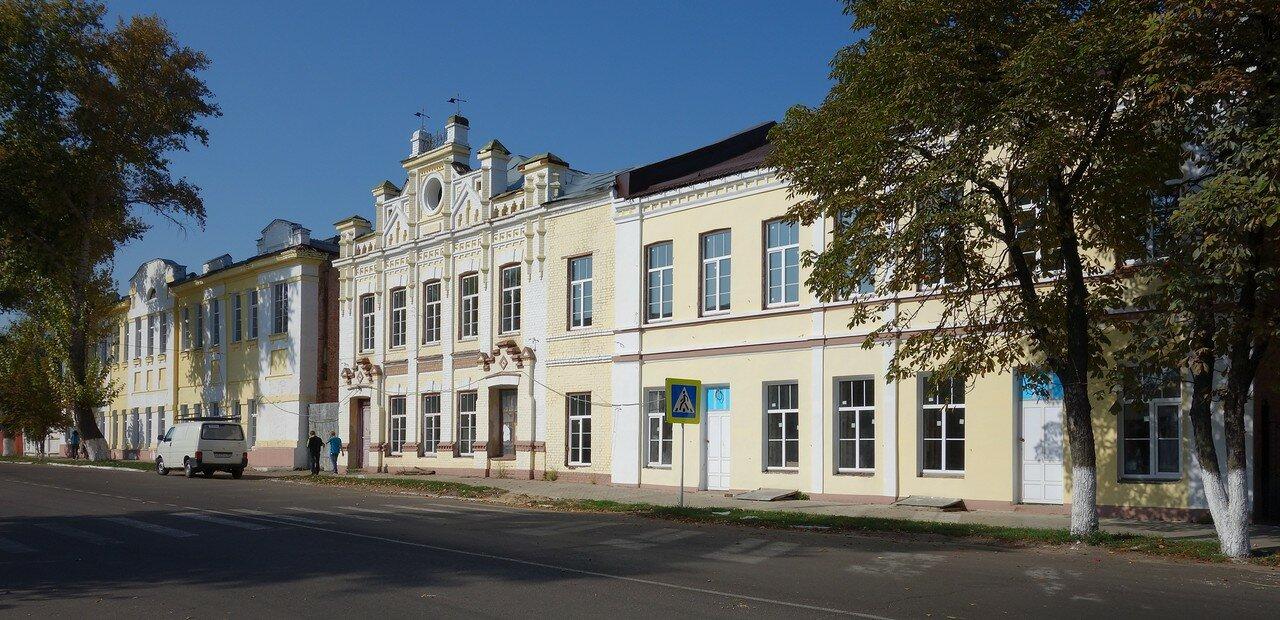 старинные фасады