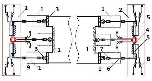 1 – двигатель Преснякова