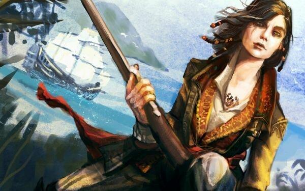 Image result for женщины-пираты средние века фото картинки