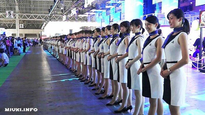 Японский фестиваль компьютерных игр Tokyo Game Show 2015