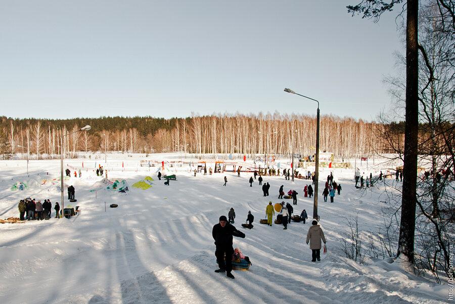 лыжная база горка