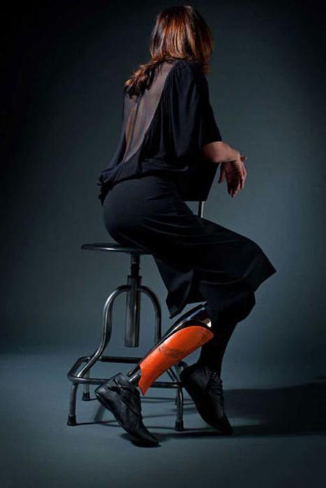 Дизайнер Скотт Саммит. Стильные протезы для инвалидов