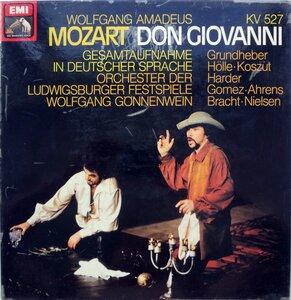 W.A. Mozart. Don Giovanni (1979) [EMI, 1C 155-99 810-13]