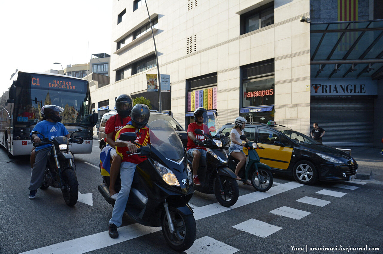 День независимости Каталонии