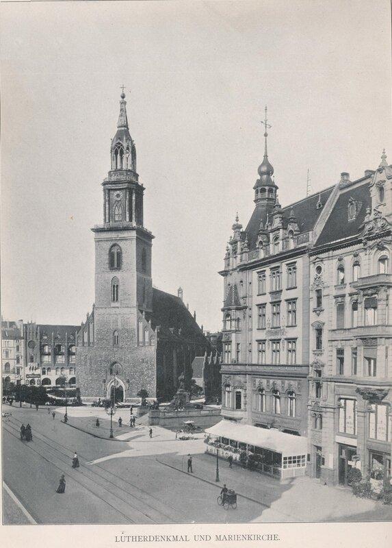 Альбом. Виды Берлина. 1904-1906 гг.