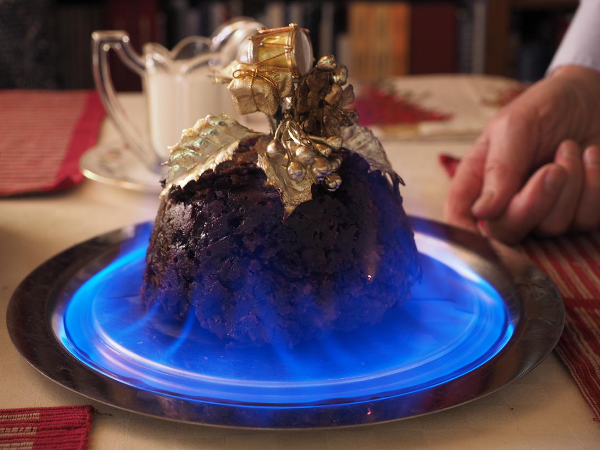 Рождественский пудинг. (James Petts) Италия, Испания,Чехия