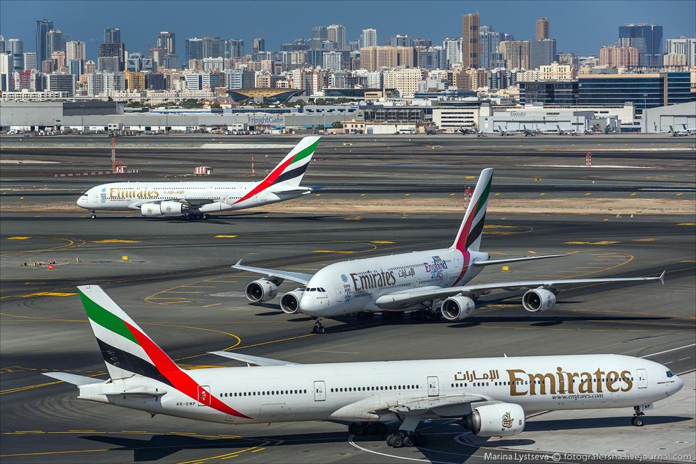 Споттинг в Дубае