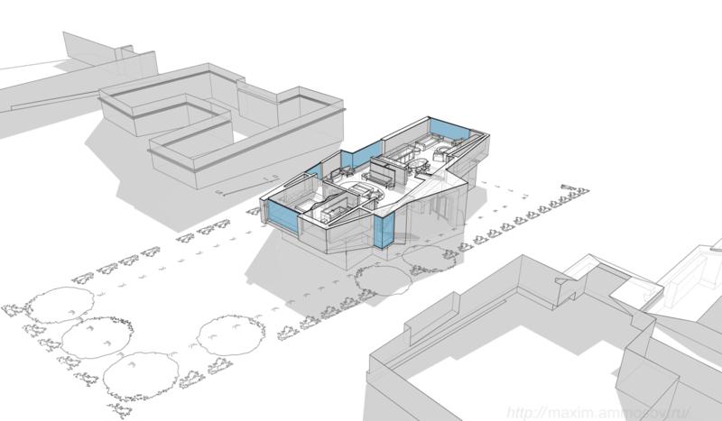 размещение камина в гостиной и кухне, концепция интерьера план первого этажа, балкон, гостиная, каминная, столовая спальня, пространство, простор, просто и элегантно,