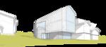 maxim ammosov аммосов aрхитектура гостиная дача жилой дом коттедж проект рисунок стекло в архитектуре
