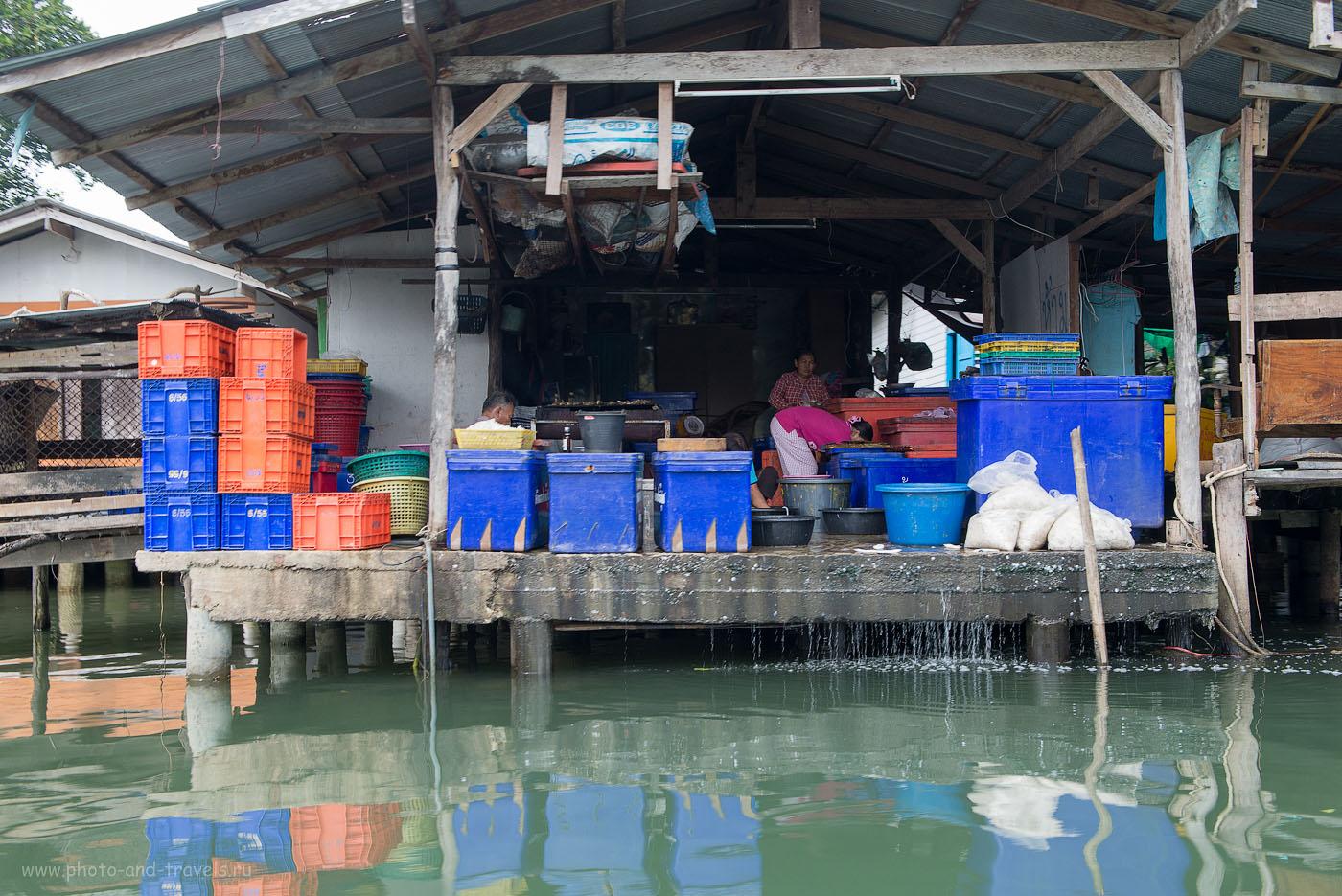 Фотография 15. Засолка рыбы  в деревне рыбаков. Отдых в Таиланде самостоятельно. Достопримечательности страны, посещенные на автомобиле (объектив Nikkor 24-70/2.8 с поляриком, 320, 38, 9.0, 1/50)