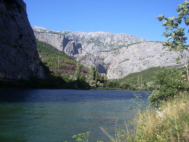Хорватия, возле города Омиш (Croatia, near the Omis)