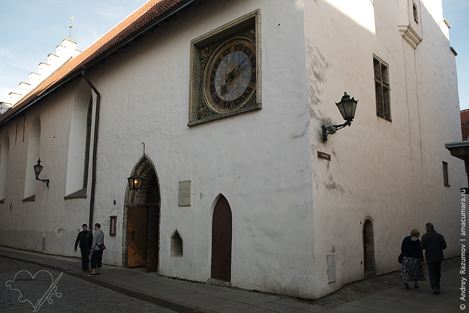 Таллинн Церковь Святого Духа