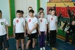 Спортивная эстафета посвящённая Дню Защитника Отечества (7-8 классы) 2012