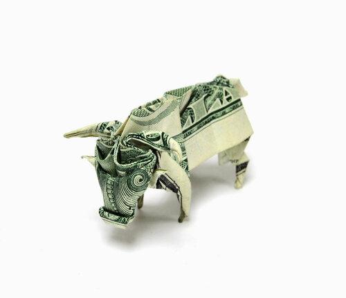 Оригами из денег или манигами
