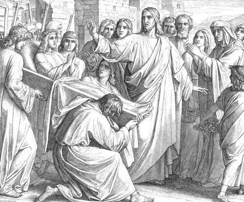 Воскрешение сына вдовы.