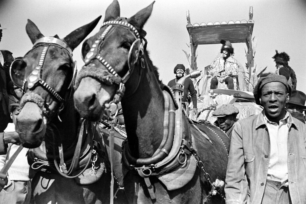 New Orleans Mardi Gras in 1938