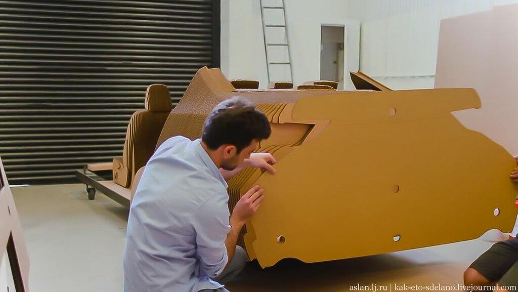 Как сделать настоящий Lexus из картона