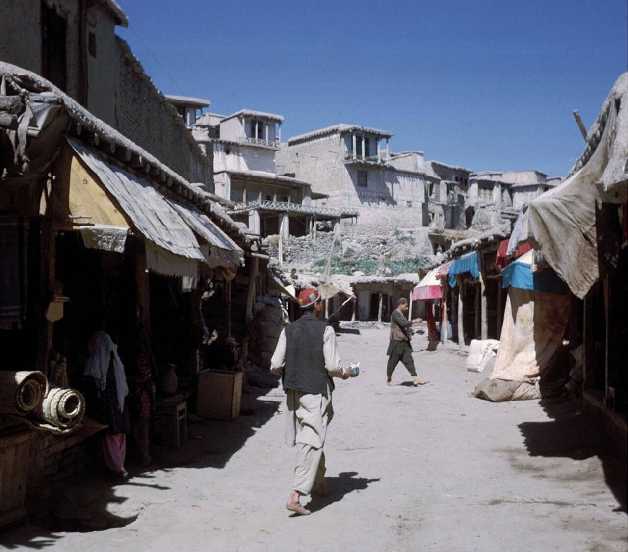Улица в афганском селе