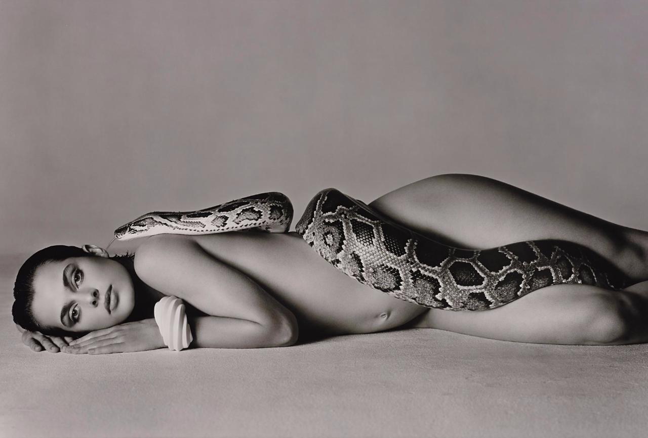 1981. Наталья Кински и змея