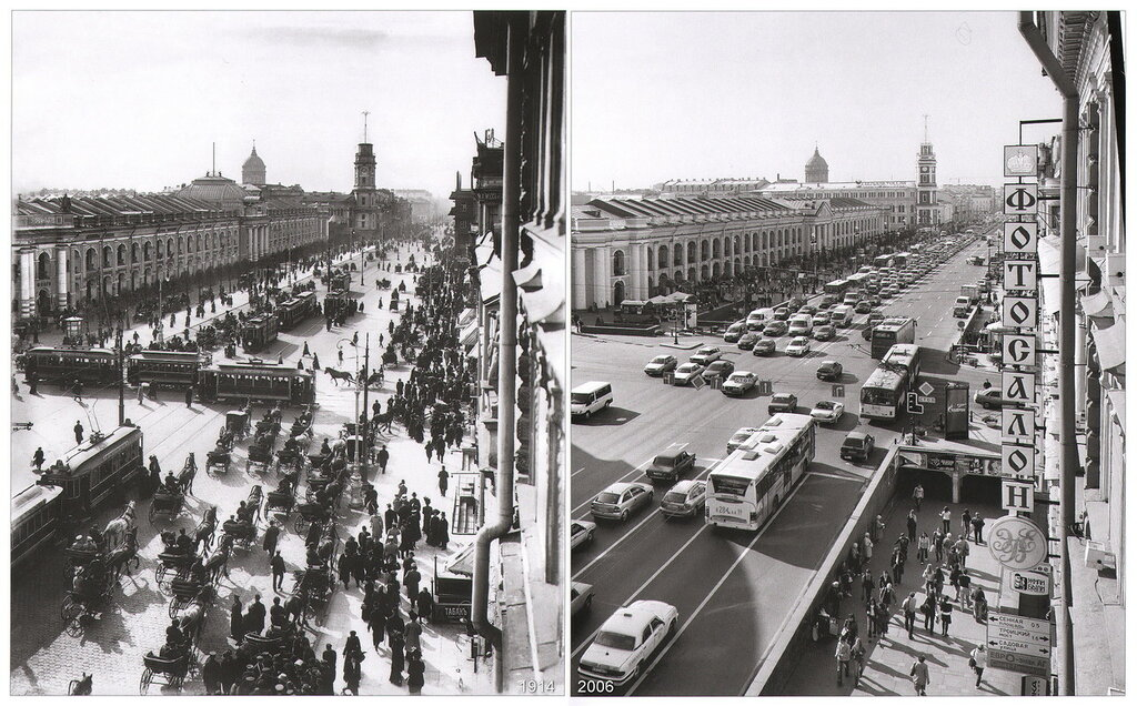 Большой Гостиный двор на Невском 35 (1914-2006)
