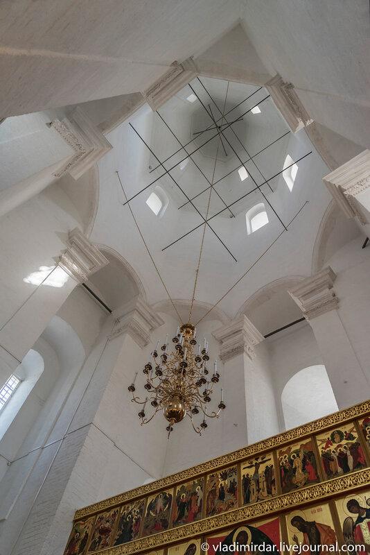 Шатровый объем Храма Вознесения в Коломенском