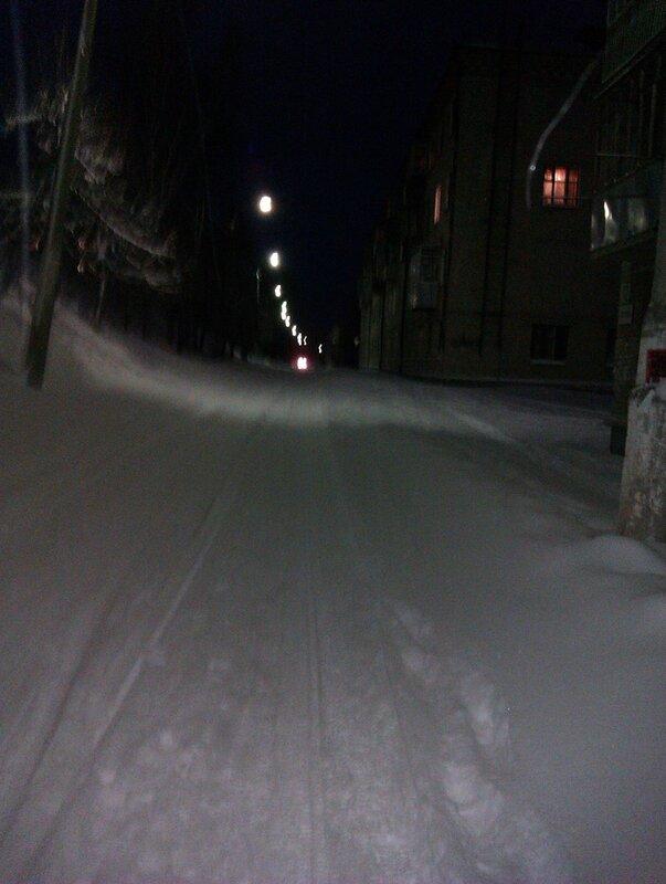 Февральская дорога