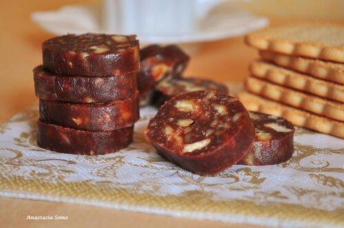 Рецепт колбаски из какао