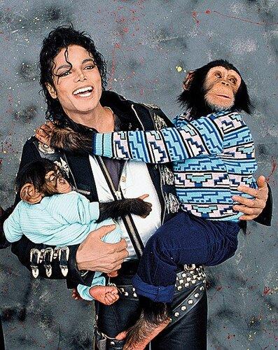 Майкл со своими любимцами
