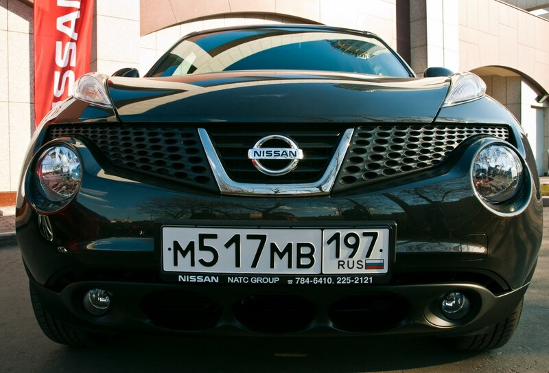 Тест драйв Nissan JUKE