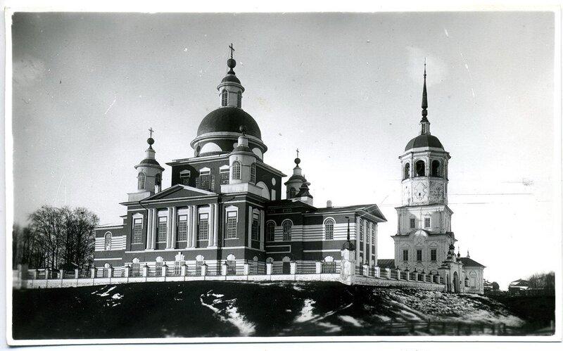 3.Богоявленский собор (1872 г.) и Казанская церковь с колокольней (1764 г.)