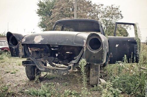 ГАЗ-13 Чайка. Улыбающийся кузов