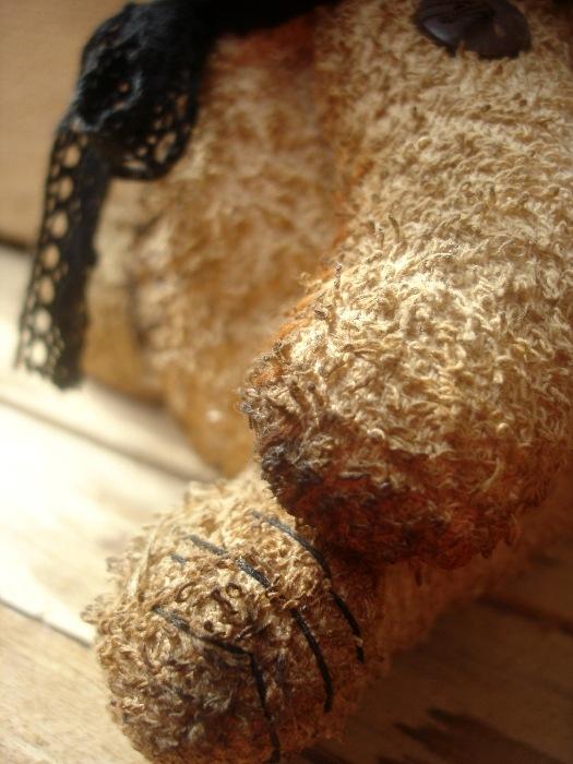Фото мягкой игрушки и Выкройки зайца из полотенец