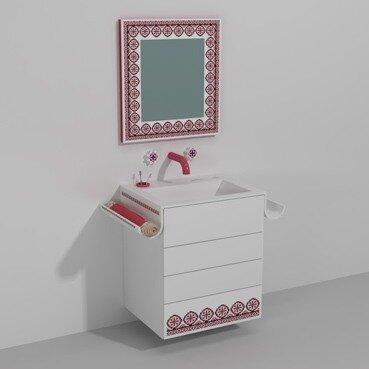 Мебель по мотивам украинской вышивки Ярослава Галанта