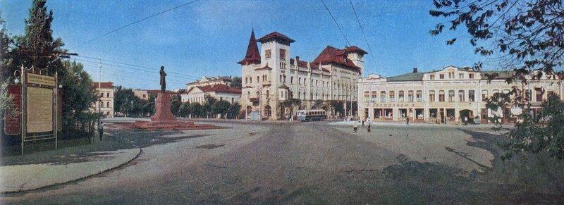 Площадь Чернышевского, 1967 год