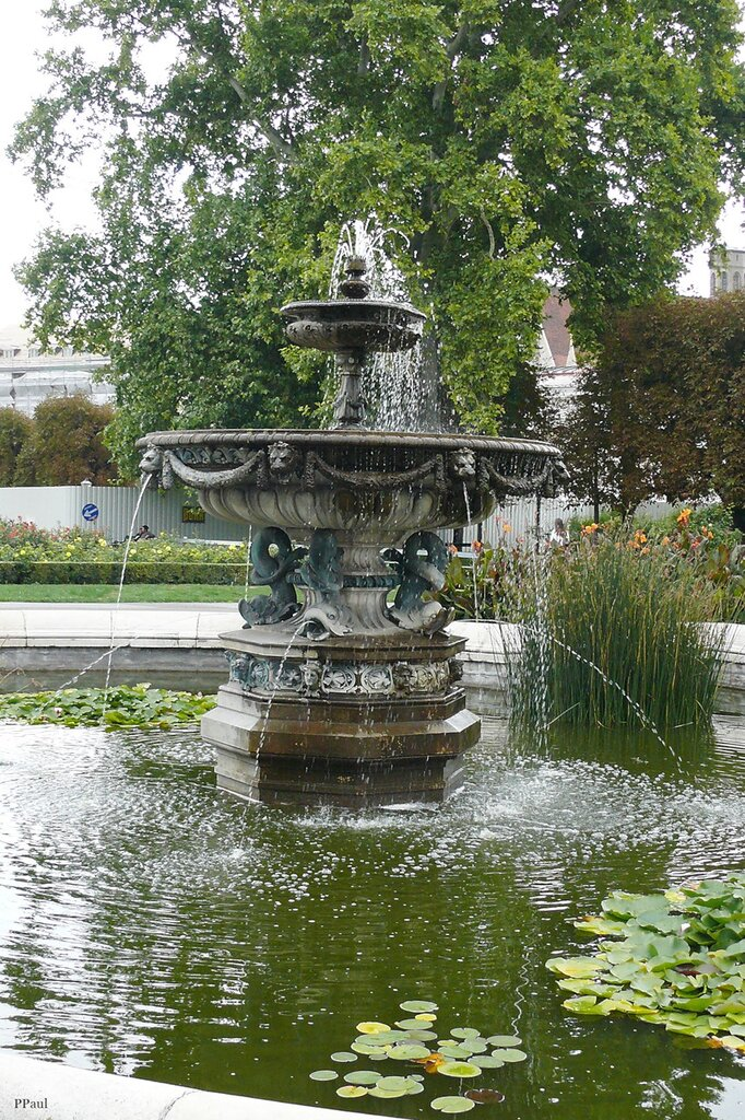Народный сад, или Фольксгартен (Volksgarten)