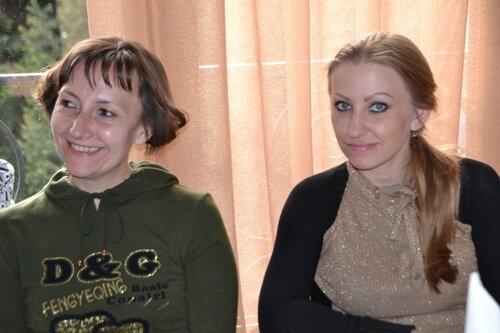 Оксана и Наташа