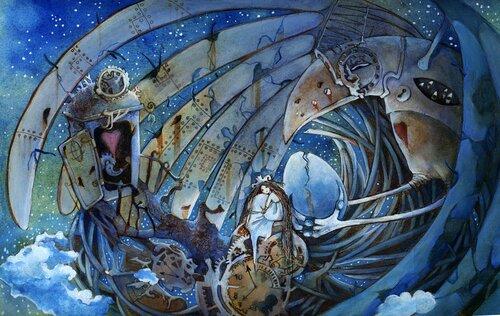 Звездное гнездо железного ворона