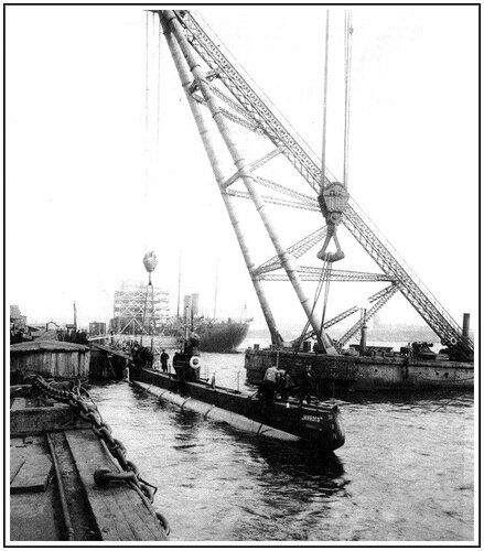 """Подводная лодка проекта  """"Минога """""""