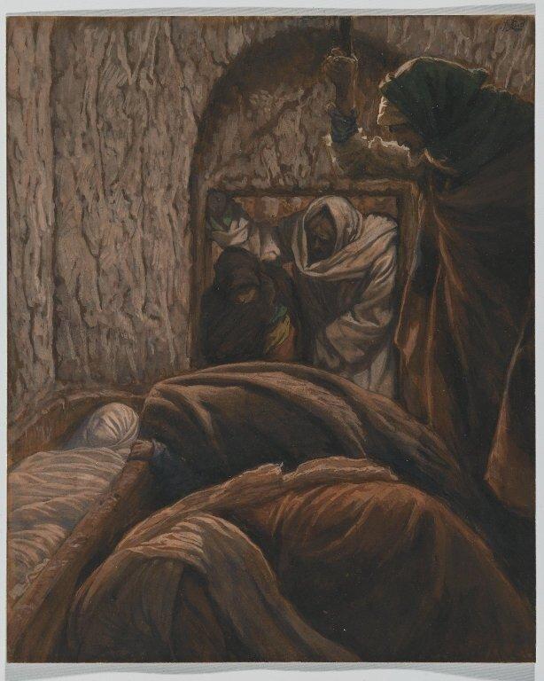 Brooklyn Museum: Jesus in the Sepulchre (Jésus dans le sépulcre)