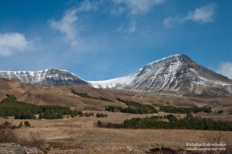 гора Esja Исландия