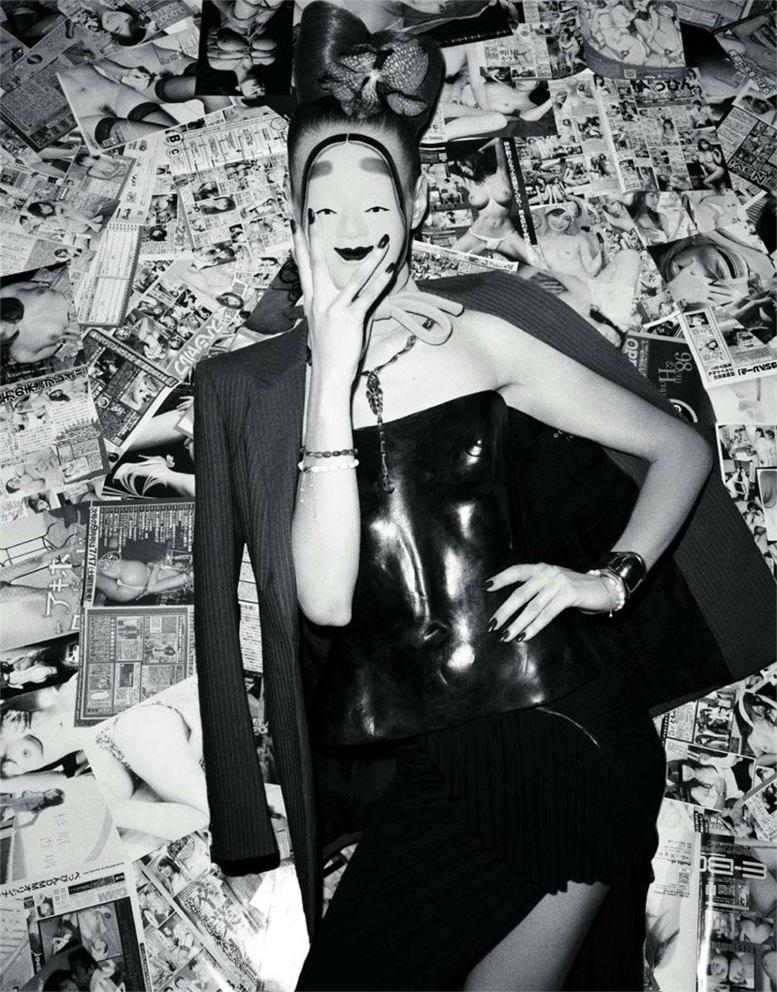 модель Фрея Беха Эриксен / Freja Beha Erichsen, фотограф Terry Richardson