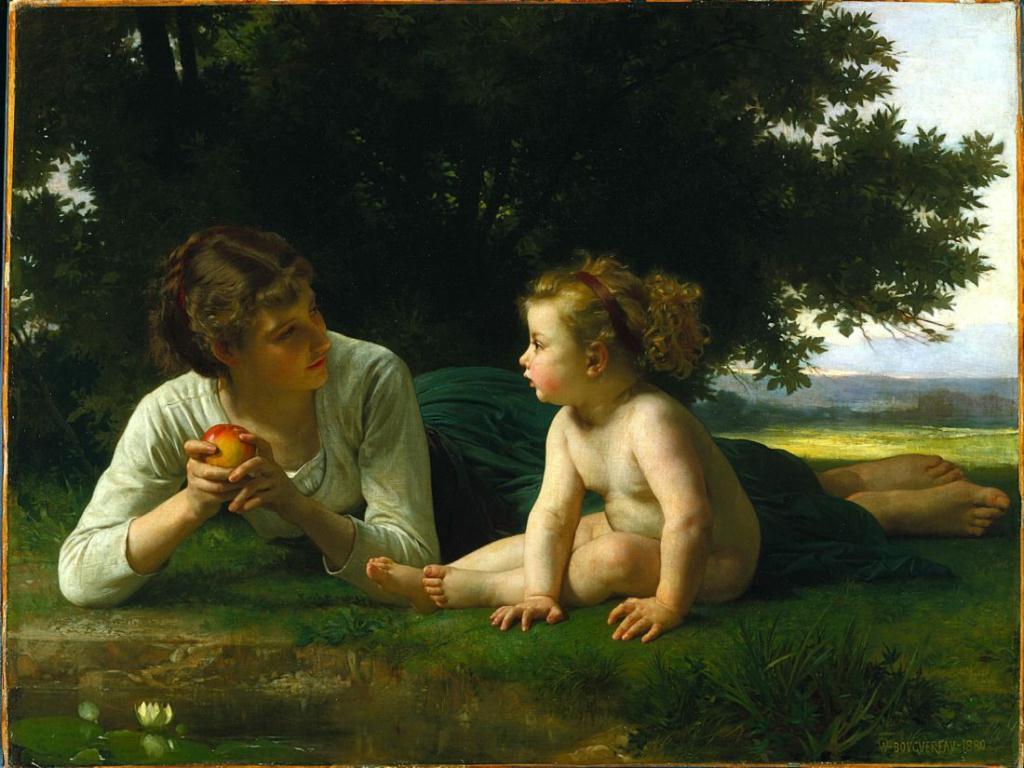 Бугеро, Искушение, 1880 г.