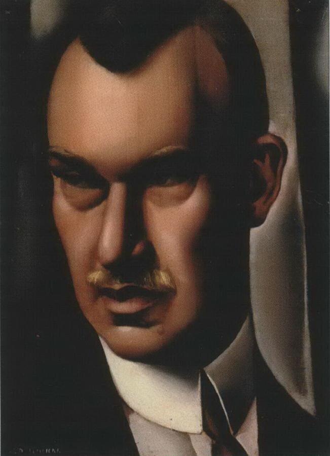 Лемпицка Тамара. Портрет Барона Рауль Куффнера. 1932.http://veniamin1.livejournal.com/profile