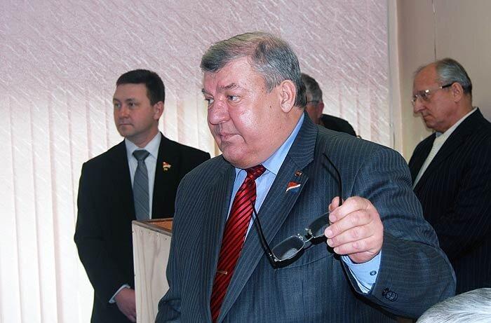 Один из лидеров лидеров коммунистов Приморья - Владимир Беспалов