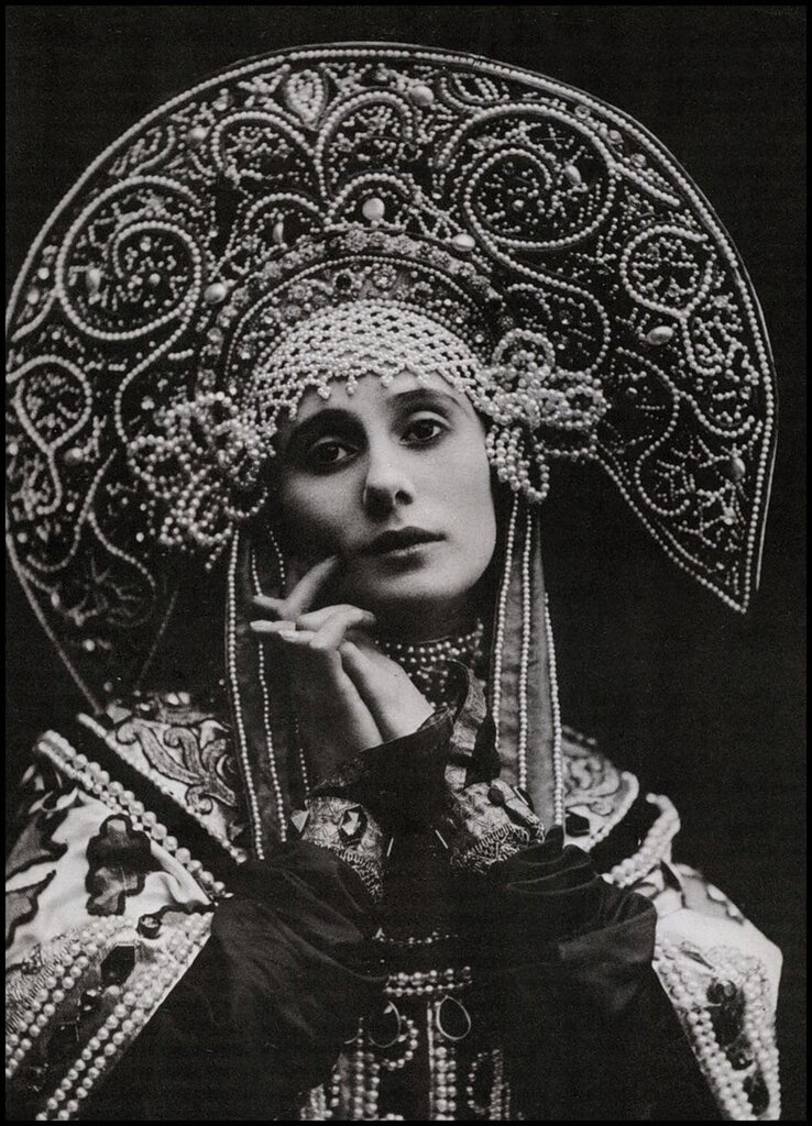 Anna Pavlova Russian Costume 1911