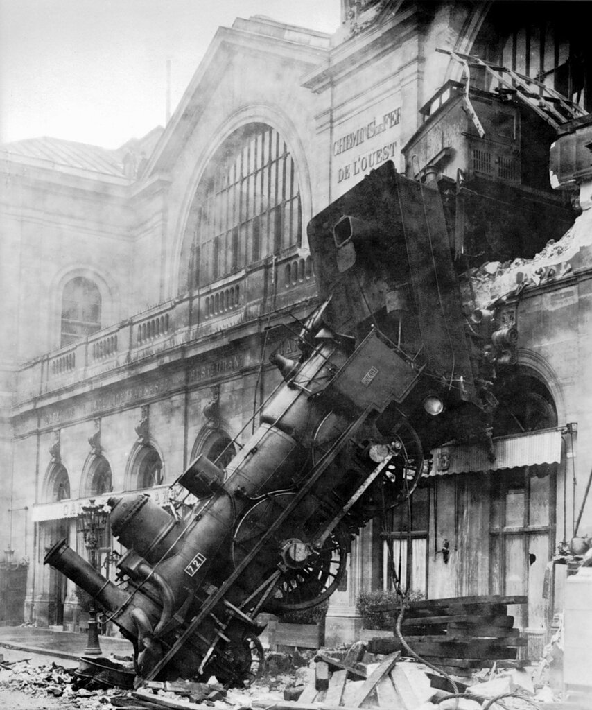 The Accident at the Gare Montparnasse