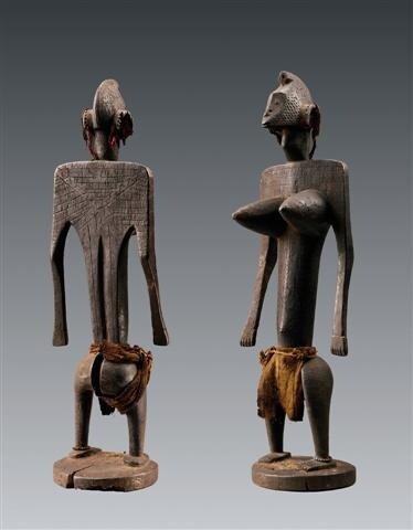 Bamana, Mali. Statue jonyeleni