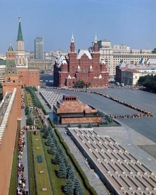 Василий Егоров Красная площадь, 1979