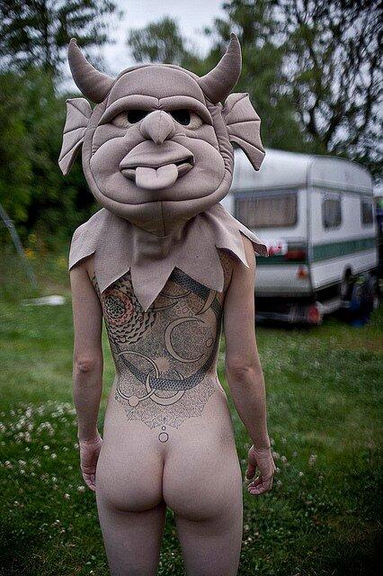 Naked Girls with Masksby Ben Hopper
