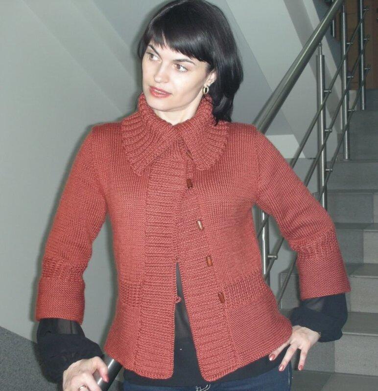 Осинка вязание спицами женщинам 49